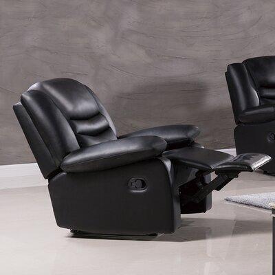 Bayfront Recliner Upholstery: Black