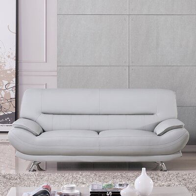 Mason Sofa Upholstery: Light Gray