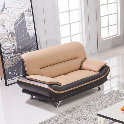 AmericanEagleInternationalTrading AE709-YO-BR-LS Mason Loveseat Upholstery