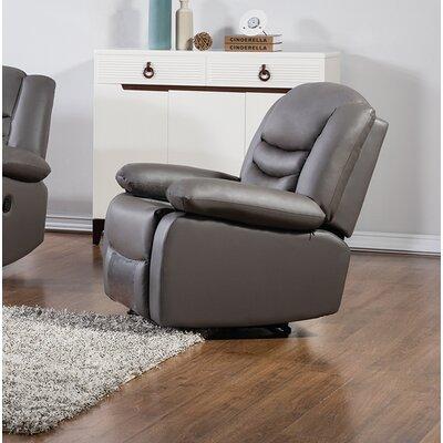 Bayfront Recliner Upholstery: Dark Gray