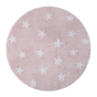 Handmade Pink Area Rug