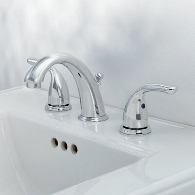 Widespread Double Handle Bathroom Faucet Finish: Chrome
