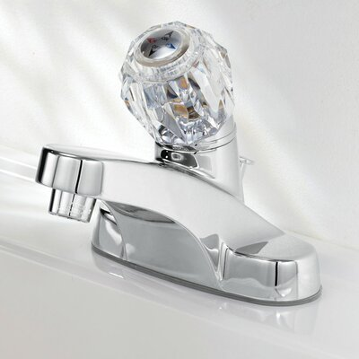 Standard Bathroom Faucet Single Handle