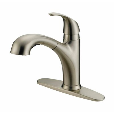 Single Handle Deck Mounted Standard Kitchen Faucet