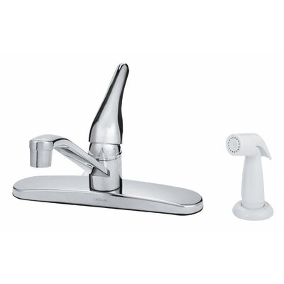 Single Handle Deck Mounted Standard Kitchen Faucet with Side Spray