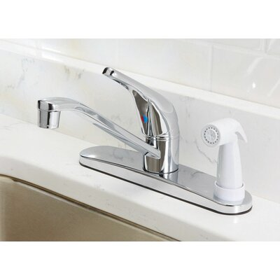 Touch Single Handle Kitchen Faucet with Side Spray