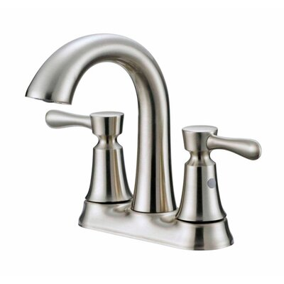 Centerset Double Handle Bathroom Faucet Finish: Bronze