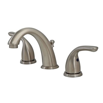 Standard Bathroom Faucet Double Handle Finish: Brushed Nickel