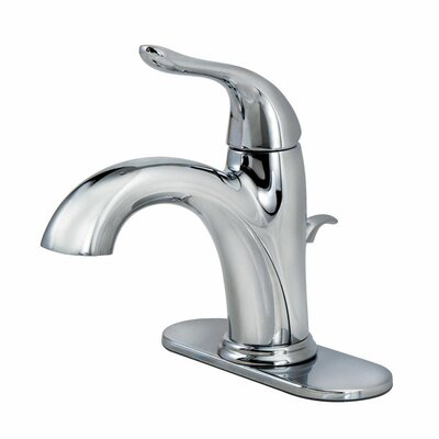 Standard Bathroom Faucet Single Handle Finish: Chrome