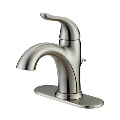 Standard Bathroom Faucet Single Handle Finish: Brushed Nickel