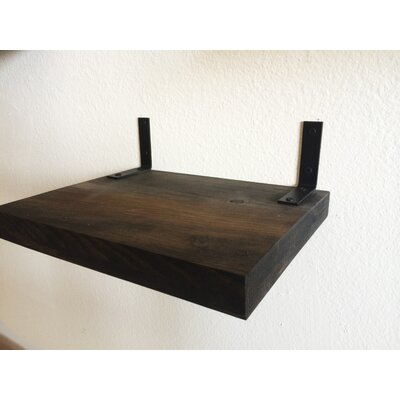 5 Handcrafted Cat Perch Size: 4.5 H x 12 W x 9 D, Color: Onyx/Charcoal