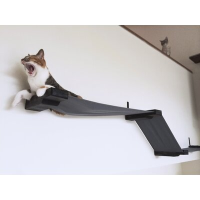 "16"" Charlotte Multiple Lounge Cat Perch Color: English Chestnut"