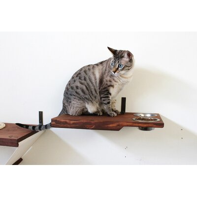 5 Cat Perch Color: English Chestnut