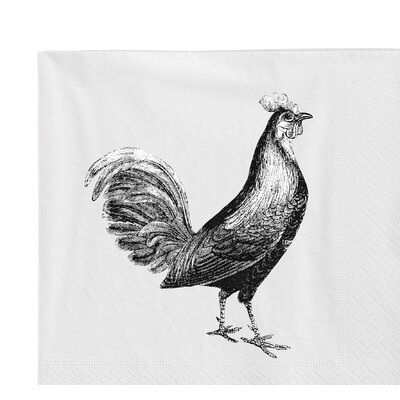 Rooster Lunch Napkin D30050001