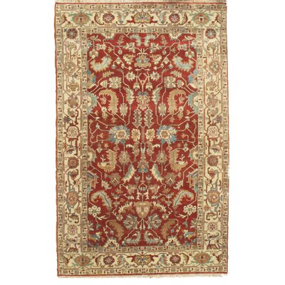 Serapi Hand Knotted Rust Area Rug