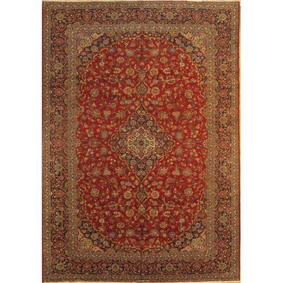 Persian Hand-Knotted Wool Red/Brown Area Rug
