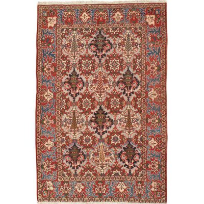 Persian Hand Knotted Wool Red/Brown Area Rug