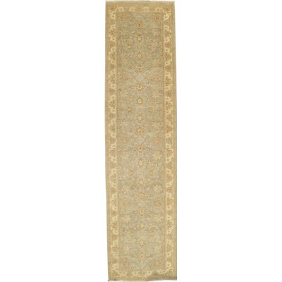 Farahan Hand-Knotted Wool Ivory Area Rug