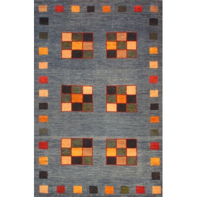 Persian Gabbeh Hand-Knotted Wool Gray/Brown Area Rug