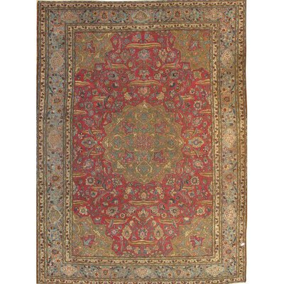 Persian Hand Knotted Wool Rust/Beige Area Rug
