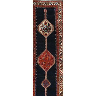 Persian Malayer Hand-Knotted Wool Red Area Rug