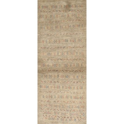 Persian Hand Knotted Wool Ivory Area Rug