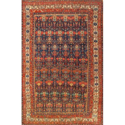 Bidjar Wool Rust Area Rug