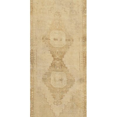 Turkish Oushak Hand-Knotted Wool Camel Area Rug