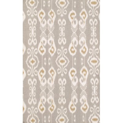 Hand Knotted Wool Gray Area Rug