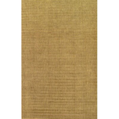 Modern Hand Knotted Wool Light Green Area Rug