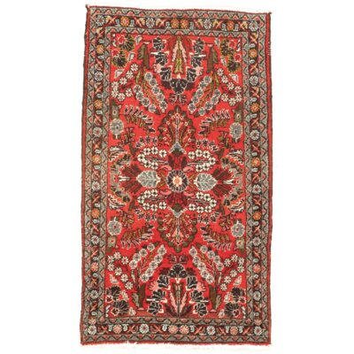 Hand Knotted Wool Red Area Rug
