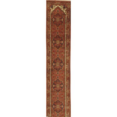 Serapi Hand Knotted Wool Red/Beige Area Rug