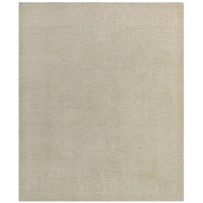 Farahan Hand Knotted Wool Gray Area Rug