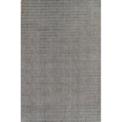 Modern Hand Knotted Wool Gray/Beige Area Rug