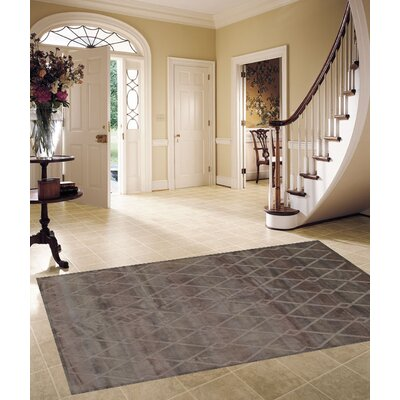 Tibetan Modern Hand-Knotted Wool Gray Area Rug