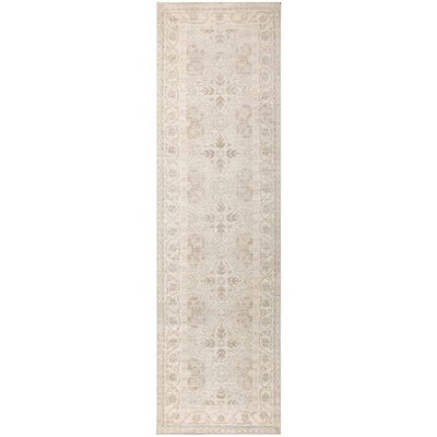 Pak Tabriz Design Hand Knotted Wool Gray/Beige Area Rug
