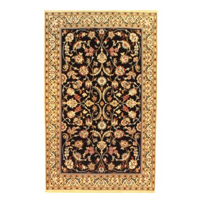 Persian Nain Hand-Knotted Wool Beige Area Rug