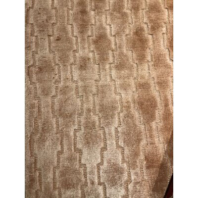Modern Hand-Knotted Wool Brown Area Rug Rug Size: Rectangle 82 x 911