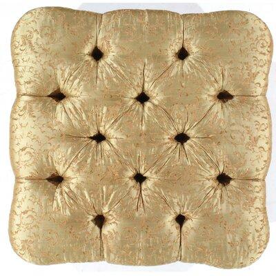 Silk Tufted Upholstery Ottoman