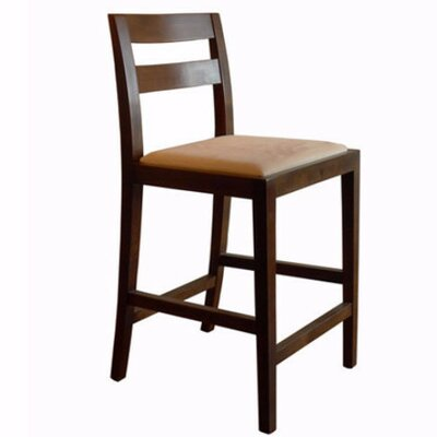 Big Sur 23.5 Bar Stool Upholstery: Black