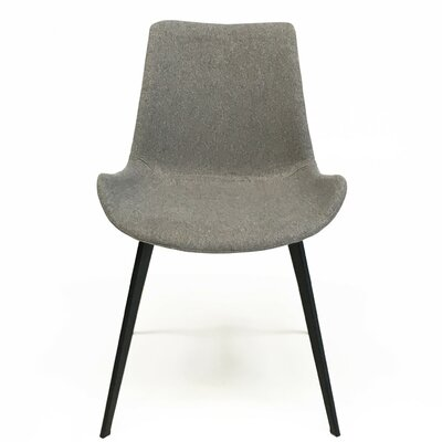 Dover Contermporary Dining Chair Upholstery: Soft Grey