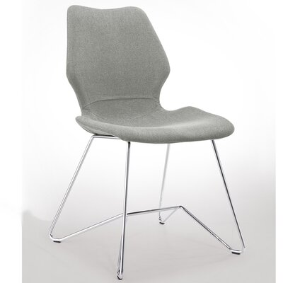Luka Dining Chair Upholstery: Soft Grey