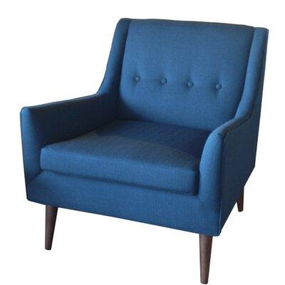 Rex Armchair Upholstery: Azure
