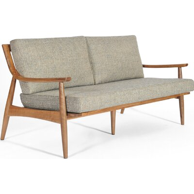 Adam Loveseat Upholstery: Mineral