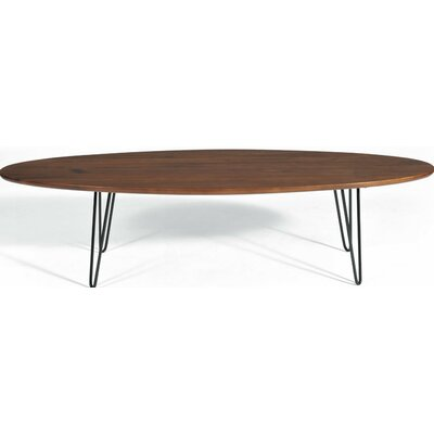 Surfboard Coffee Table Finish: Walnut