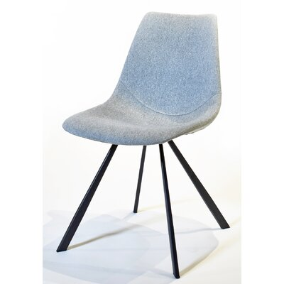 Paula Side Chair Upholstery: Light Gray