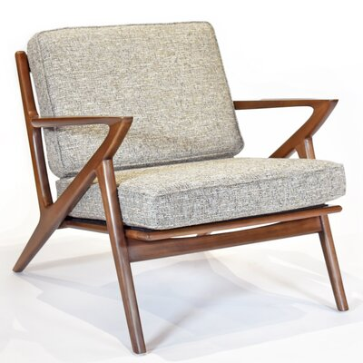 Zach Armchair Upholstery: Mineral