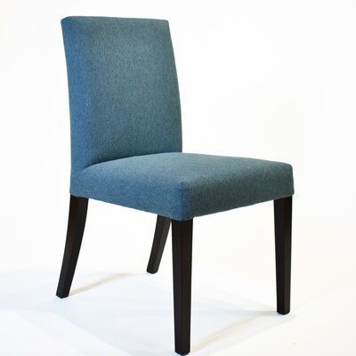 Oslo Parsons Chair Upholstery: Blue