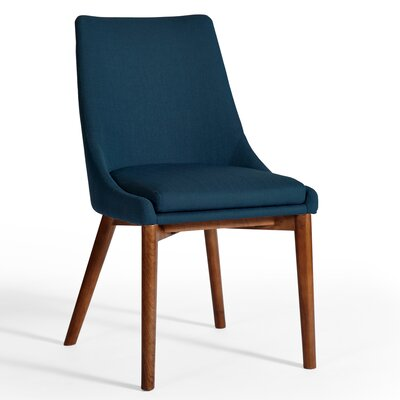 Pascal Dining Chair (Set of 2) Color: Azure Blue