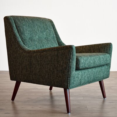 Rex Armchair Upholstery: Jade